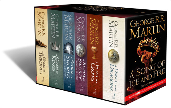 George rr martin song of ice and fire book six