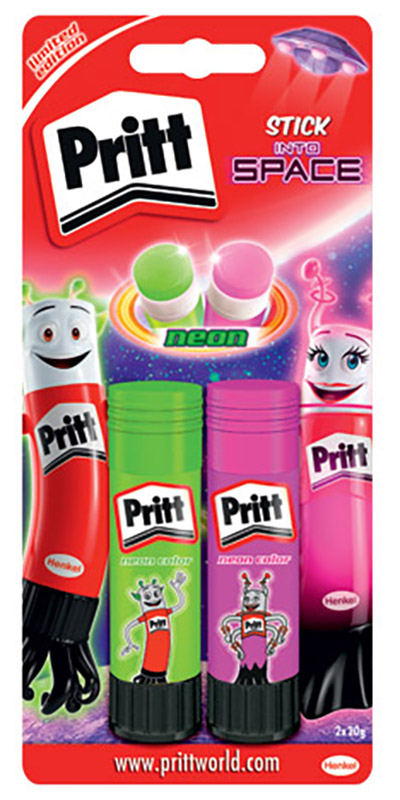 Image for LEPILO PRITT NEON STICK, 2 x 20 g from emkaSi
