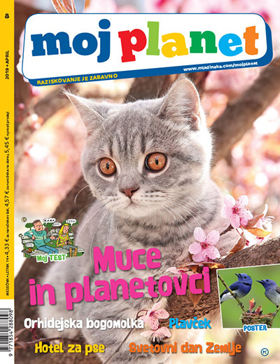 Revija MOJ PLANET, april 2019