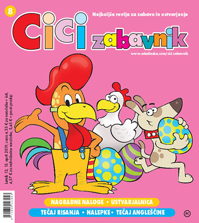 Revija CICI ZABAVNIK, april 2019