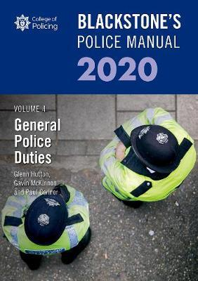 Image for Blackstone's Police Manuals Volume 4: General Police Duties 2020 from emkaSi