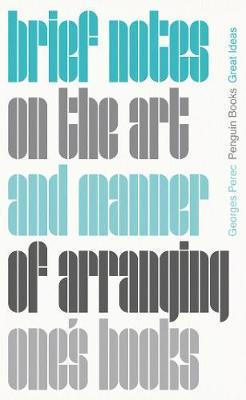 Image for Brief Notes on the Art and Manner of Arranging One's Books from emkaSi