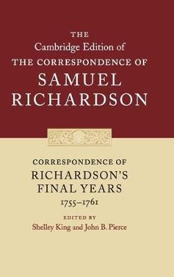 Image for Correspondence of Richardson's Final Years (1755-1761) from emkaSi