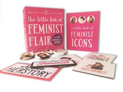 Image for The Little Box of Feminist Flair: With Pins, Patches, & Magnets from emkaSi