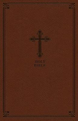 Image for KJV, Value Thinline Bible, Compact, Leathersoft, Brown, Red Letter Edition, Comfort Print from emkaSi