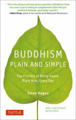 Image for Buddhism Plain and Simple - The Practice of Being Aware Right Now, Every Day from emkaSi