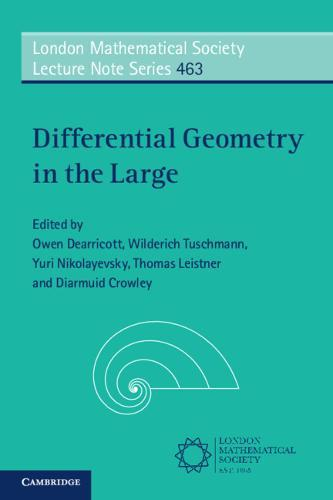 Image for Differential Geometry in the Large from emkaSi
