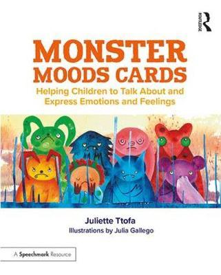 Image for Monster Moods Cards - Helping Children to Talk About and Express Emotions and Feelings from emkaSi
