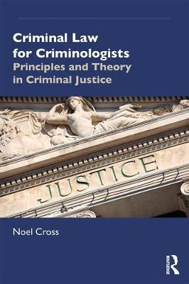 Image for Criminal Law for Criminologists - Principles and Theory in Criminal Justice from emkaSi