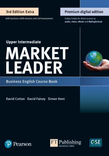 Image for 9781292361147 Market Leader 3e Extra Upper Intermediate Course Book, eBook, QR, MEL & DVD Pack from emkaSi