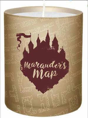 Image for Harry Potter: Marauder's Map Glass Candle from emkaSi