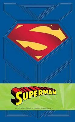 Image for Superman Ruled Pocket Journal from emkaSi