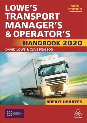 Image for Lowe's Transport Manager's and Operator's Handbook 2020 from emkaSi