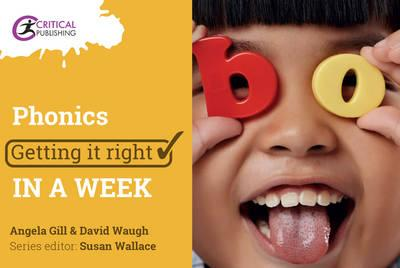 Image for Phonics: Getting it Right in a Week from emkaSi