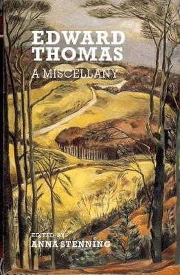 Image for Edward Thomas - A Miscellany from emkaSi