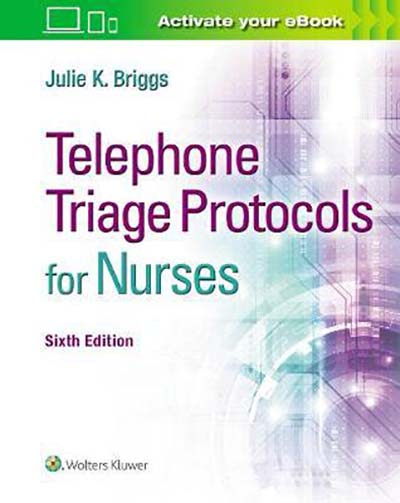 Image for TELEPHONE TRIAGE PROTOCOLS FOR NURSES from emkaSi