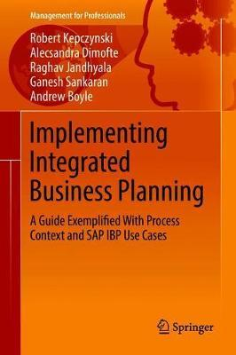 Image for Implementing Integrated Business Planning - A Guide Exemplified With Process Context and SAP IBP Use Cases from emkaSi