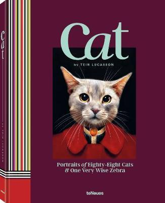 Image for Cat: Portraits of Eighty-Eight Cats & One Very Wise Zebra from emkaSi