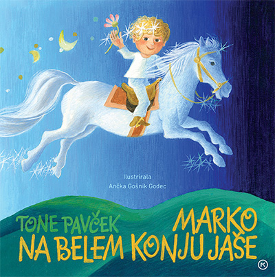 Image for Marko na belem konju jaše from emkaSi