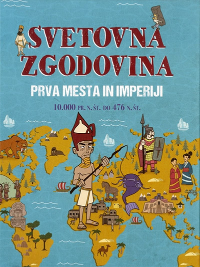 Image for Svetovna zgodovina: Prva mesta in imperiji (10.000 pr. n. št. do 476 n. št.) from emkaSi