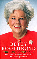 Image for Betty Boothroyd Autobiography from emkaSi