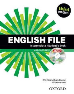 Image for English File third edition: Intermediate: Student's Book with iTutor: The best way to get your students talking from emkaSi