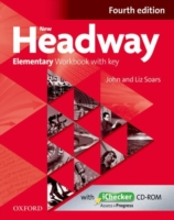 Image for New Headway: Elementary A1 - A2: Workbook + iChecker with Key: The world's most trusted English course from emkaSi