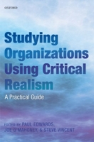 Image for Studying Organizations Using Critical Realism: A Practical Guide from emkaSi