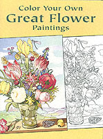Image for Color Your Own Great Flower Paintings from emkaSi