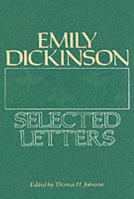 Image for Emily Dickinson: Selected Letters from emkaSi