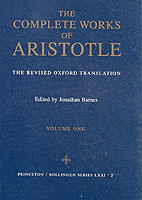 Image for Complete Works of Aristotle, Volume 1: The Revised Oxford Translation from emkaSi