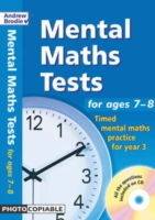 Image for Mental Maths Tests for Ages 7-8: Timed Mental Maths Practice for Year 3 from emkaSi