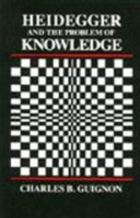 Image for Heidegger and the Problem of Knowledge from emkaSi