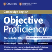 Image for Objective Proficiency Class Audio CDs (2) from emkaSi