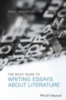 Image for The Wiley Guide to Writing Essays About Literature from emkaSi