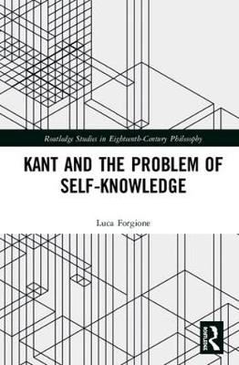 Image for Kant and the Problem of Self-Knowledge from emkaSi