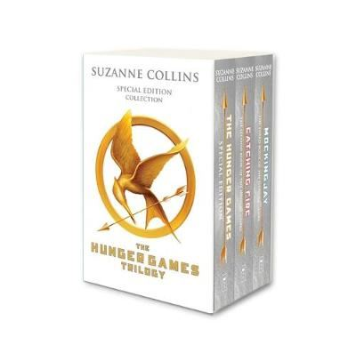 Image for Hunger Games Trilogy (white anniversary boxed set) from emkaSi