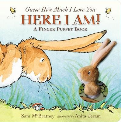 Image for Guess How Much I Love You: Here I Am A Finger Puppet Book - Here I Am! A Finger Puppet Book from emkaSi