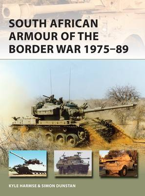 Image for South African Armour of the Border War 1975-89 from emkaSi