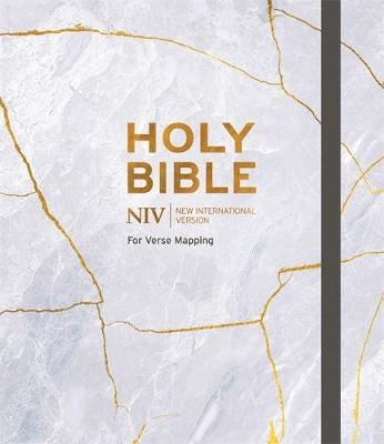 Image for NIV Bible for Journalling and Verse-Mapping - Grey from emkaSi