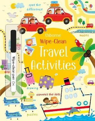Image for Wipe-clean Travel Activities from emkaSi