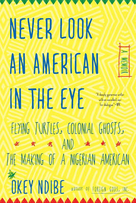Image for Never Look An American In The Eye: A Memoir of Flying Turtles, Colonial Ghosts, and the Making of a Nigerian American from emkaSi