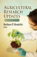 Image for Agricultural Research Updates: Volume 3 from emkaSi