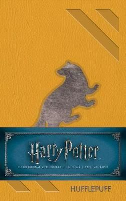 Image for Harry Potter: Hufflepuff Ruled Pocket Journal from emkaSi