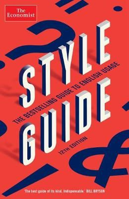 Image for The Economist Style Guide - 12th Edition from emkaSi