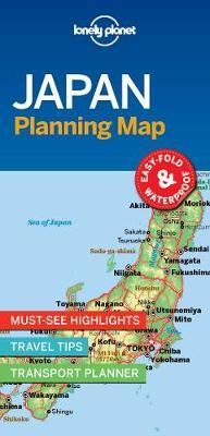 Image for Lonely Planet Japan Planning Map from emkaSi