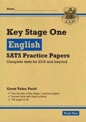 Image for New KS1 English SATS Practice Papers: Pack 1 (for the tests in 2019) from emkaSi