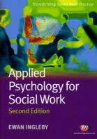 Image for Applied Psychology for Social Work from emkaSi