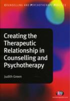 Image for Creating the Therapeutic Relationship in Counselling and Psychotherapy from emkaSi