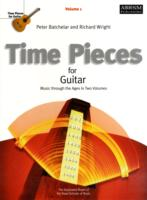 Image for Time Pieces for Guitar, Volume 1: Music through the Ages in 2 Volumes from emkaSi